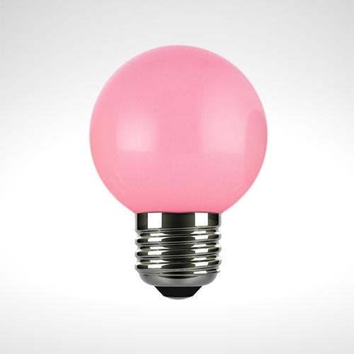 Boutique Bulb, pastel pink