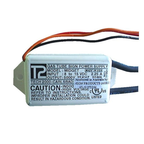 NPA Lighting - Product tags small neon transformer
